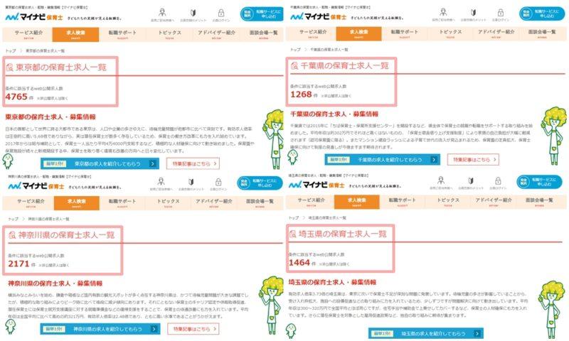 東京・神奈川・埼玉・千葉県の求人情報